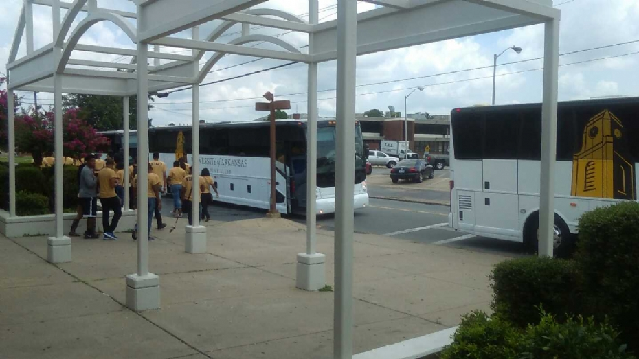 :LIONS Students Loading The Bus