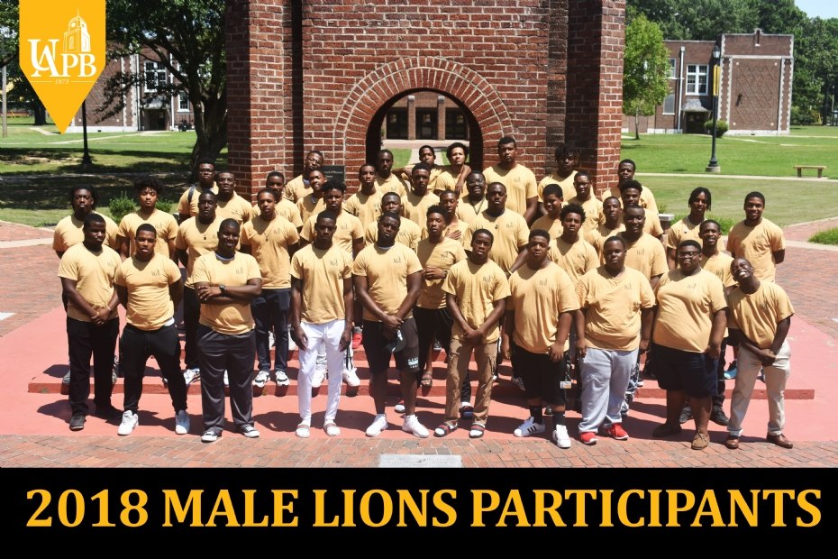 Male LIONS Students