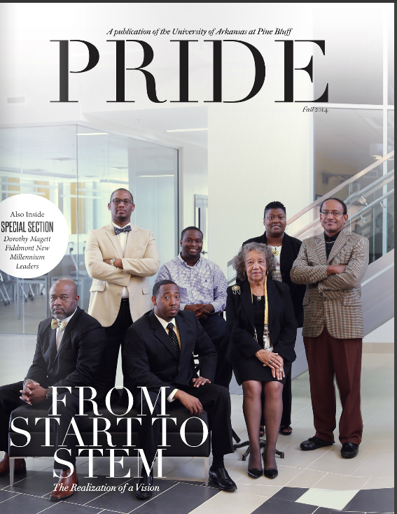 Fall 2014 issue of UAPB Magazine