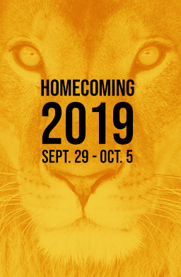 Homecoming 2019 save the date